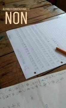 Alfabeti convenzionali e NON